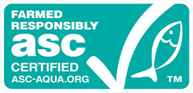 Farmed Responsibly, ASC Certified